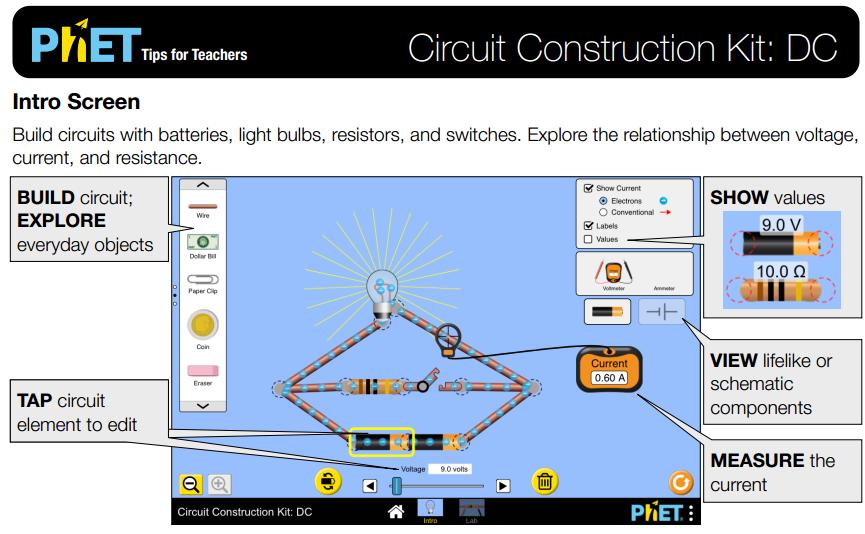 Fantastic Circuit Construction Kit Dc Simulation Overview For Teachers Wiring Cloud Biosomenaidewilluminateatxorg