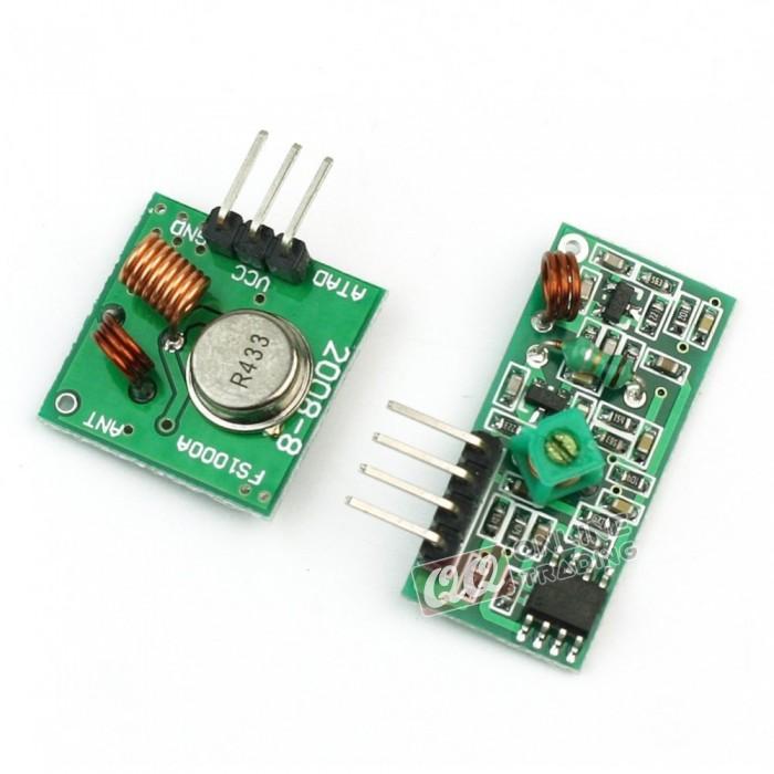 Incredible Rf Wireless 315 433 Mhz Transmitter Receiver Module Pair Qq Wiring Cloud Cranvenetmohammedshrineorg