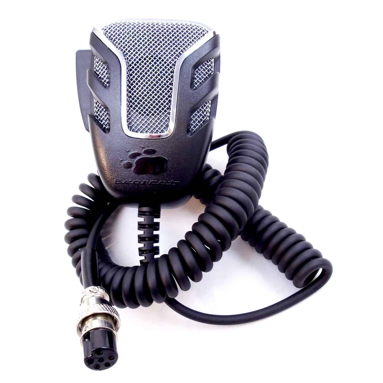 4 pin Cobra WORKMAN KC-4 CB Radio Microphone Replacement Metal 5 Wire Uniden