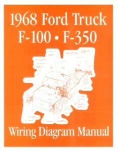 Marvelous Ford 1968 F100 F350 Truck Wiring Diagram Manual 68 Ebay Wiring Cloud Counpengheilarigresichrocarnosporgarnagrebsunhorelemohammedshrineorg