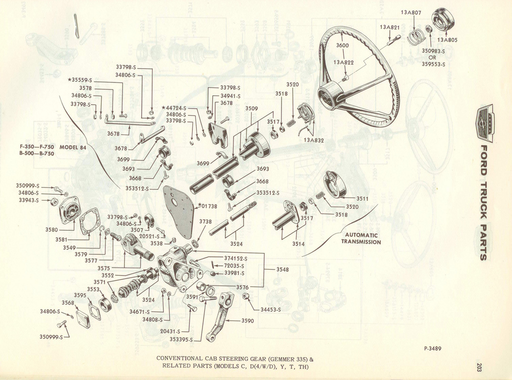 1966 F100 Steering Column Wiring Diagram