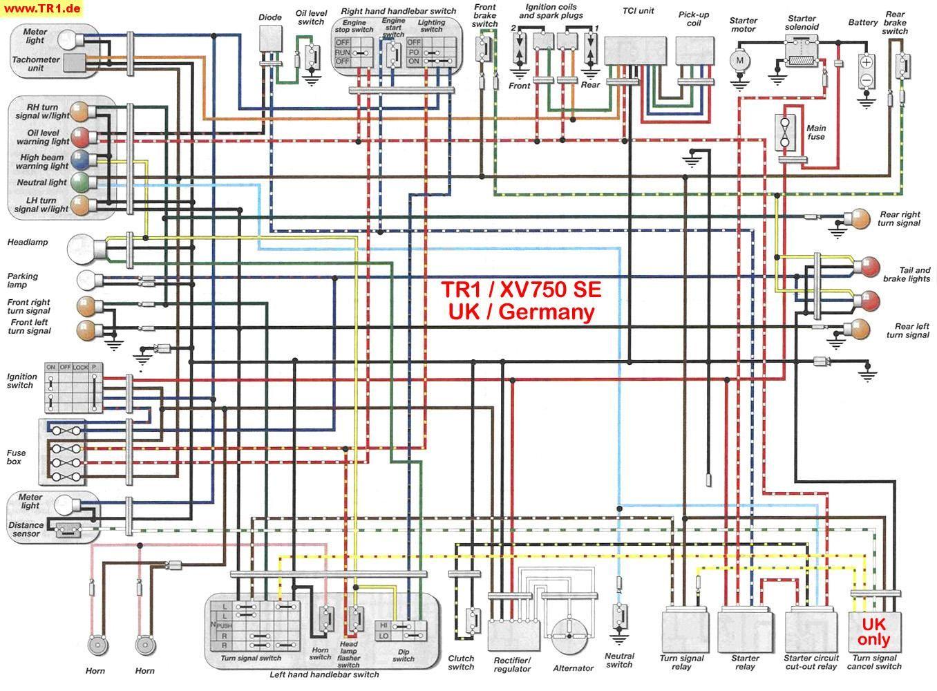 1983 yamaha maxim 750 wiring diagram 82 xv920 wiring diagram e3 wiring diagram  82 xv920 wiring diagram e3 wiring diagram