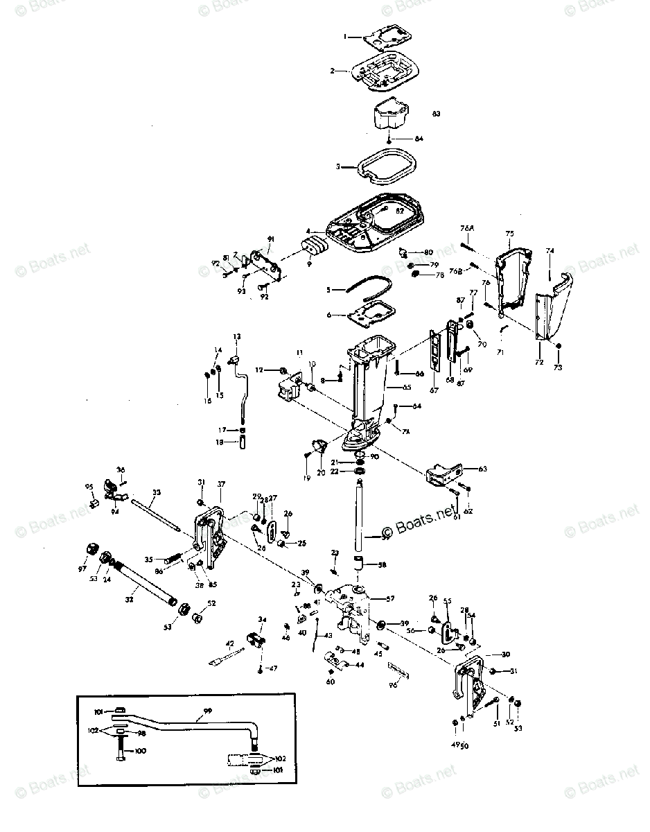 Wiring Diagram Chrysler Outboard Motor