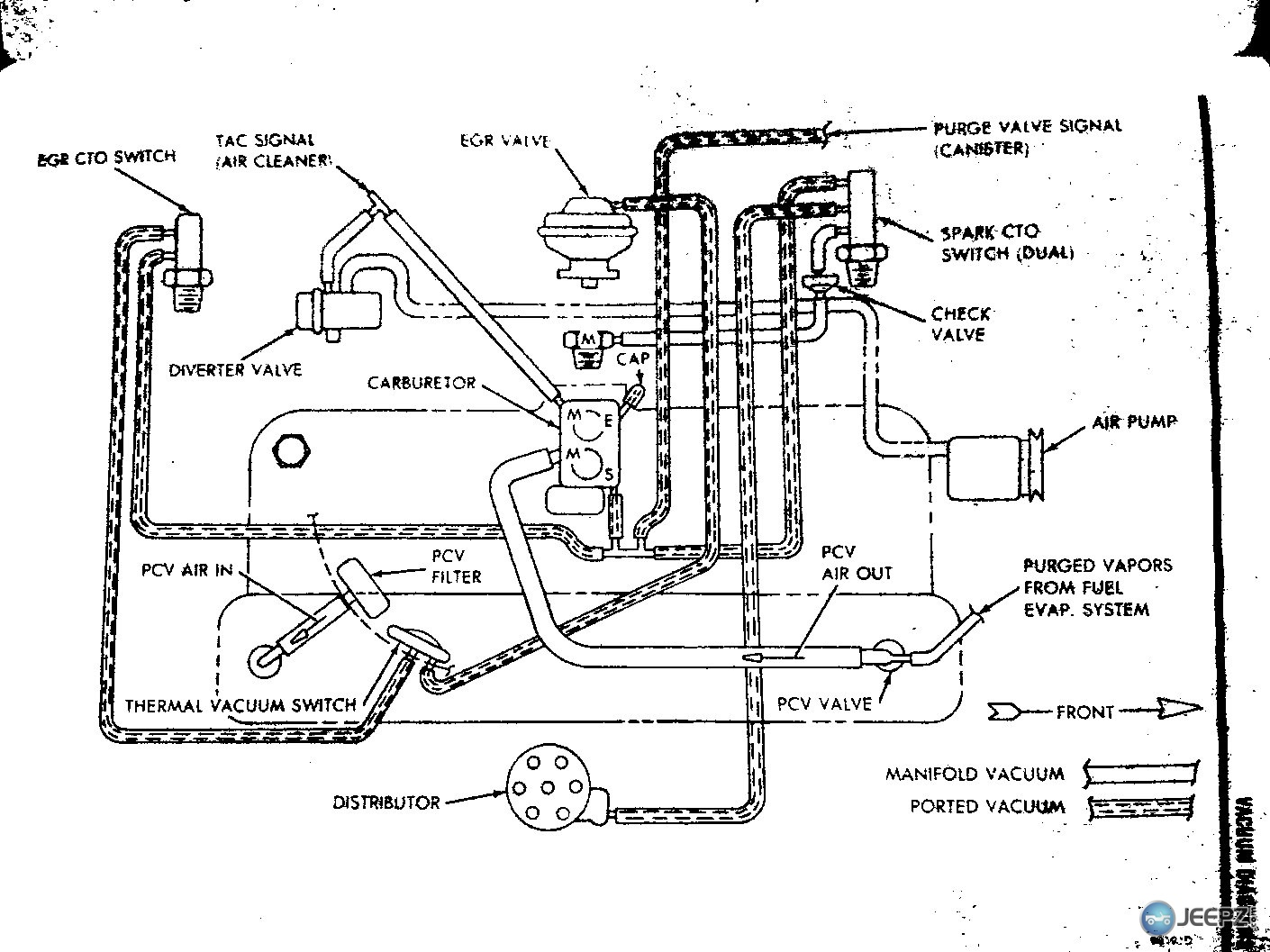 86 jeep cherokee vacuum diagram bl 3258  furthermore jeep grand cherokee vacuum hose diagram  jeep grand cherokee vacuum hose diagram