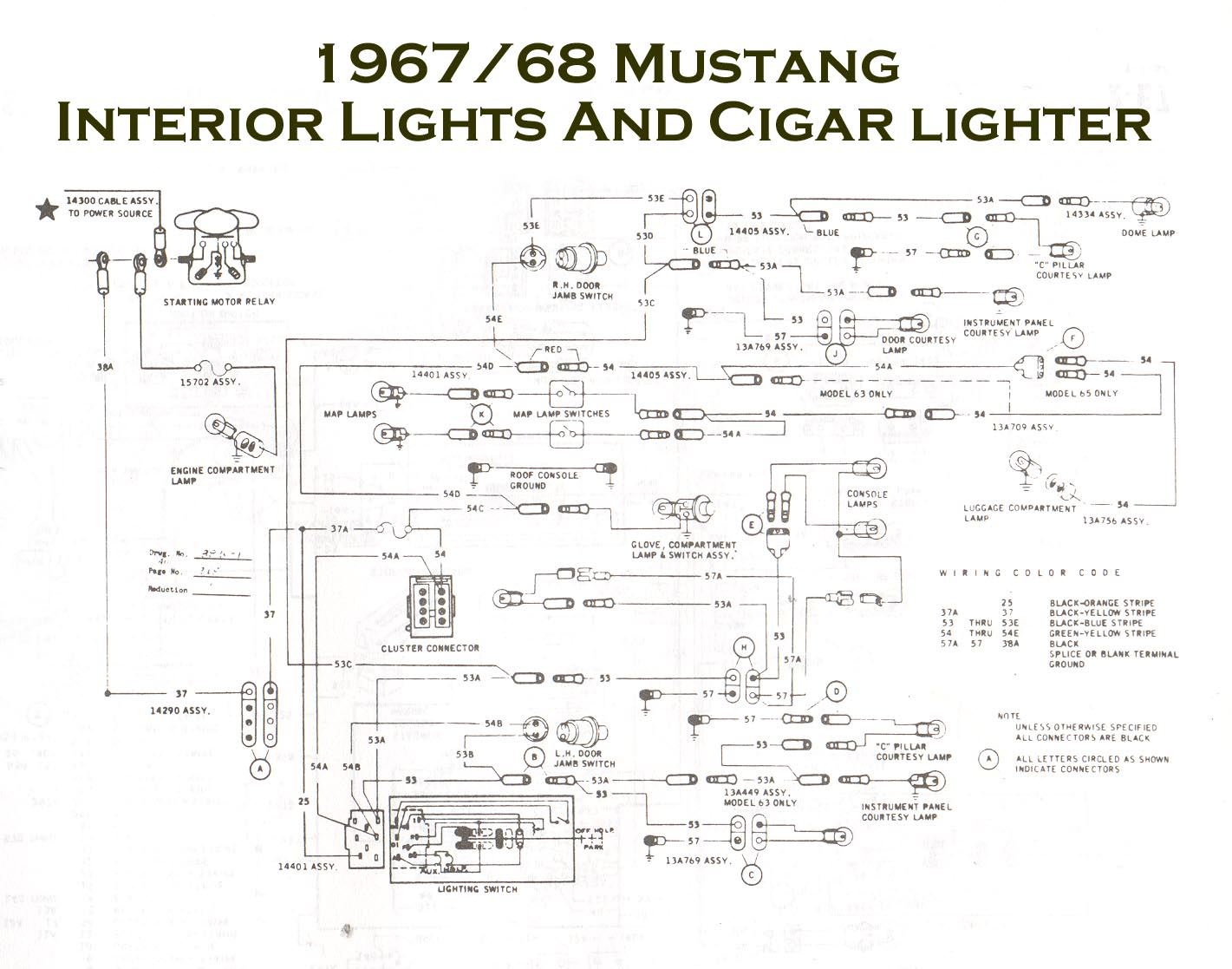 40 Mustang Tach Wiring Diagram   40 Dodge Dakota Engine Wiring ...