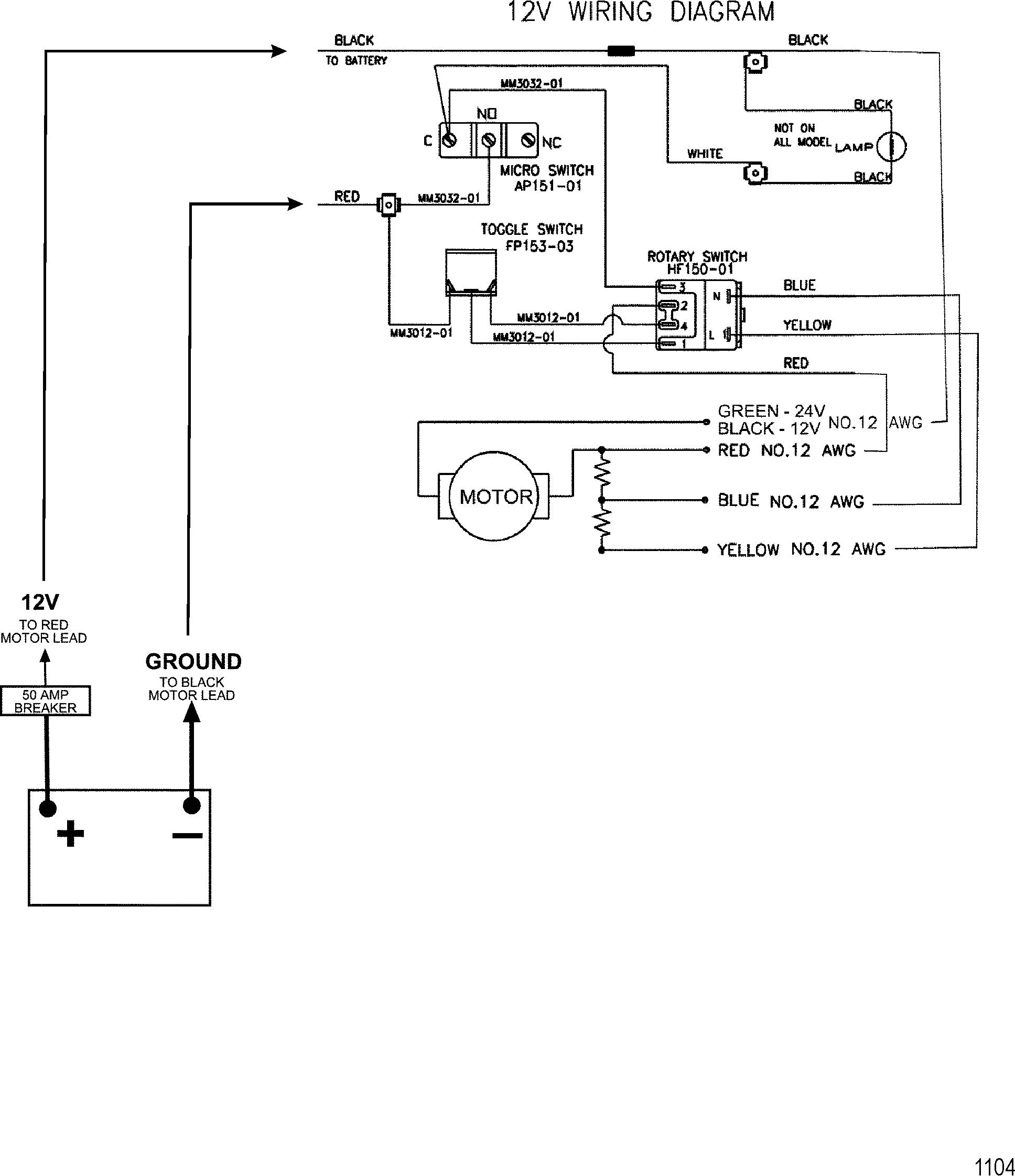 trolling motor wiring guide bc 9302  12 24 volt trolling motor wiring on 36 volt trolling  trolling motor wiring on 36 volt