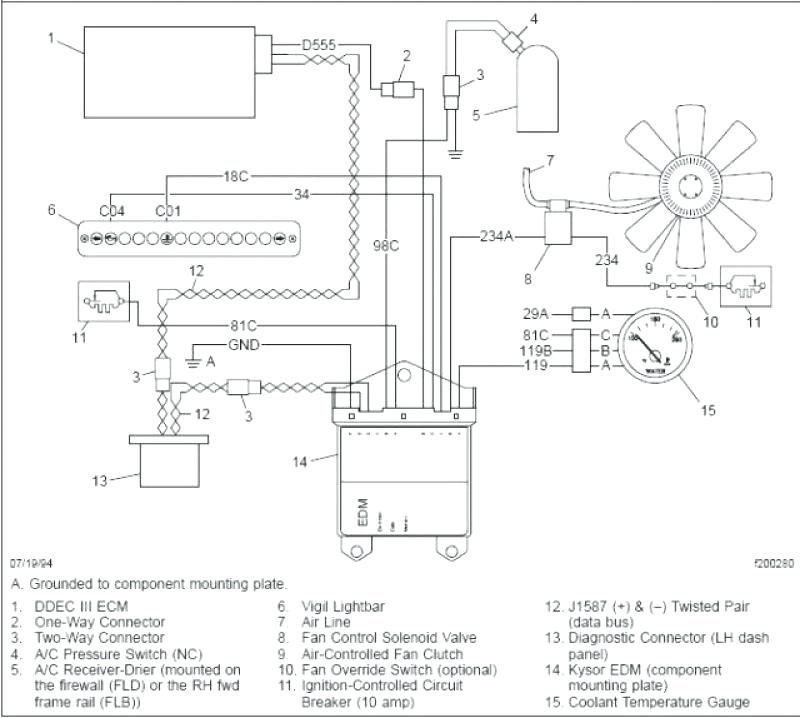 peterbilt 379 fan clutch wiring diagram  wiring diagram