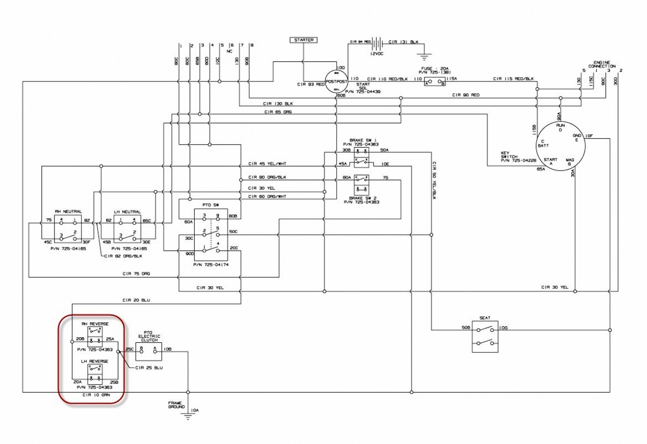 Cub Cadet 2135 Wiring Schematic - wiring diagrams schematicswiring diagrams schematics
