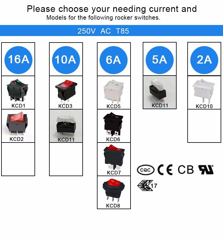 Pleasing 6A 250V Cqc Wiring Diagram Rocker Switch Buy 6A 250V Wiring Wiring Cloud Vieworaidewilluminateatxorg
