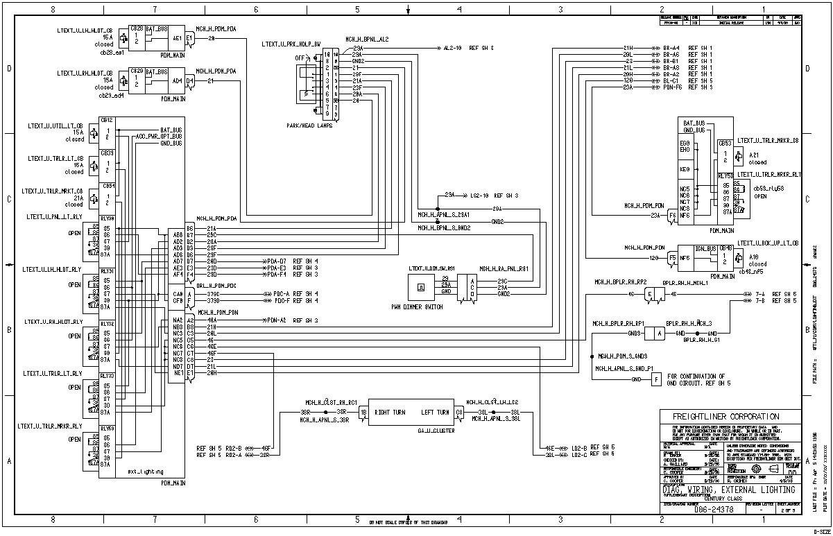 2005 freightliner radio wiring diagram 2005 freightliner columbia wiring diagram e5 wiring diagram  freightliner columbia wiring diagram