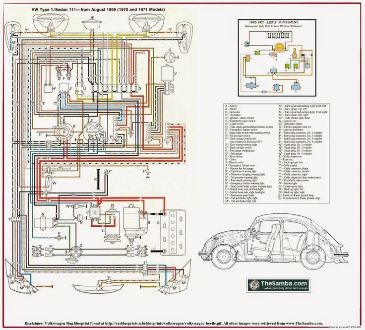 1971 vw wiring 1970 vw wiring harness wiring diagram data  1970 vw wiring harness wiring diagram