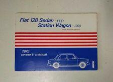 Astonishing Repair Manuals Literature For 1975 Fiat 128 Ebay Wiring Cloud Filiciilluminateatxorg