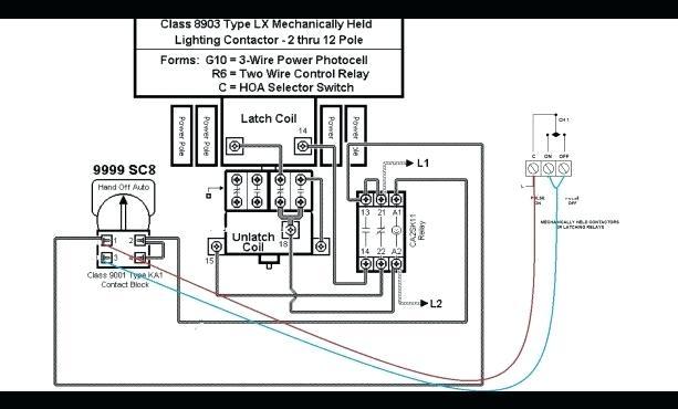Astonishing Lighting Contactor With Photocell Wiring Schematic Photocell Wiring Wiring Cloud Filiciilluminateatxorg