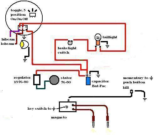 Lg 3715 Basic Wiring For Your Bikestart Here Page 2 The Jockey Schematic Wiring