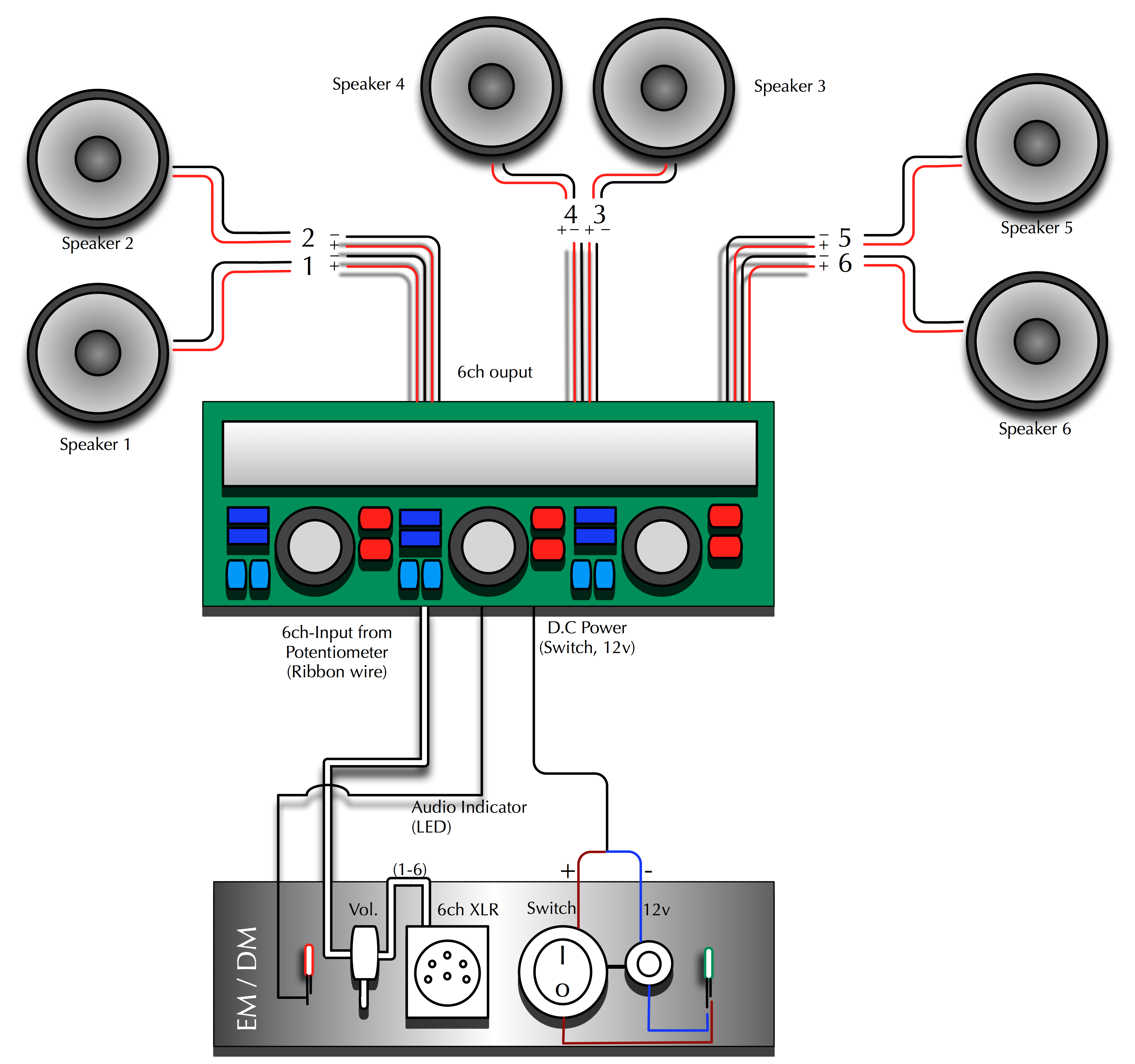 DB_5085] Car Stereo Wiring Diagram 6 Speakers Wiring DiagramRicis Mecad Egre Opein Mohammedshrine Librar Wiring 101