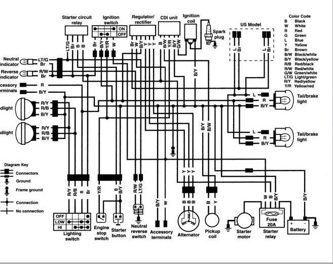 kawasaki ninja 300 wiring diagram wt 0335  1987 kawasaki bayou 300 wiring diagram  1987 kawasaki bayou 300 wiring diagram