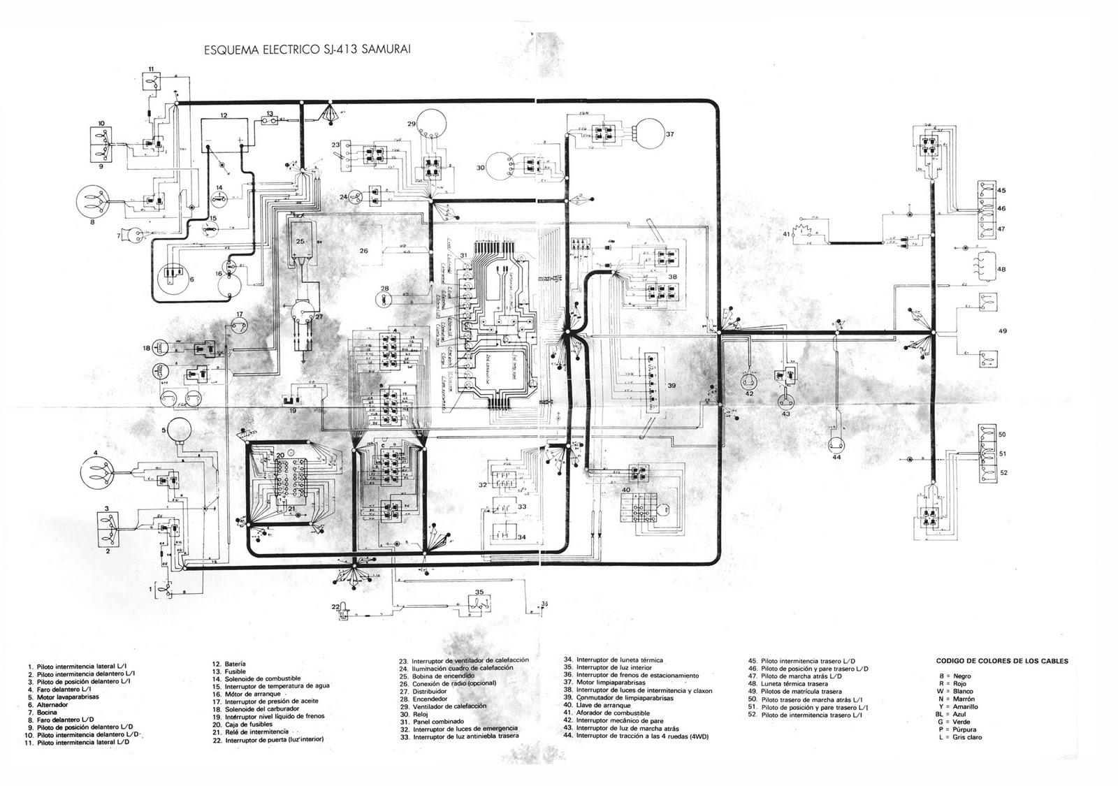 Wiring Diagram Suzuki Jimny Sj410