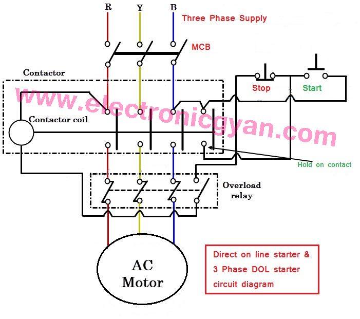 Vb 2018  Dol Starter Circuit Diagram Download Diagram