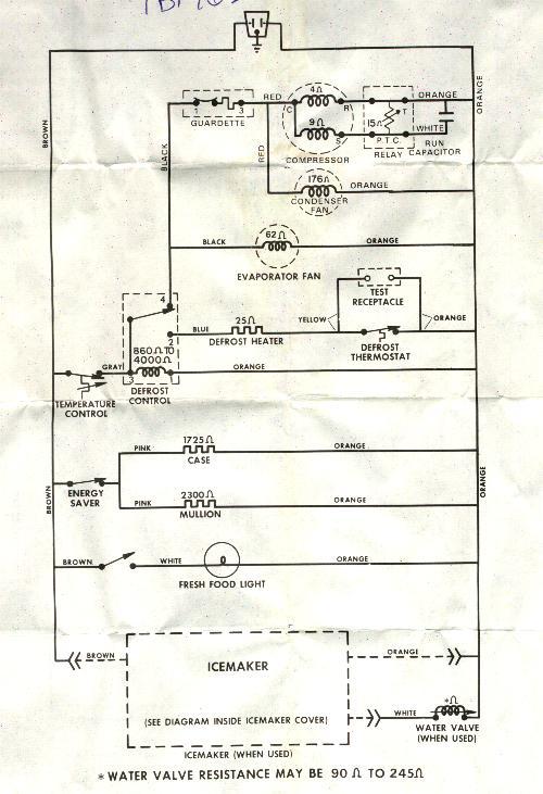 gg2247 ge monogram refrigerator wiring diagram free diagram