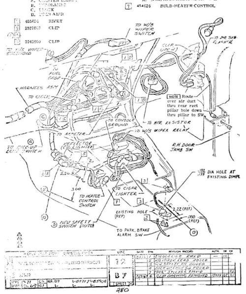 Zl 6390  C3 Gauge Cluster Wiring Diagram Free Diagram