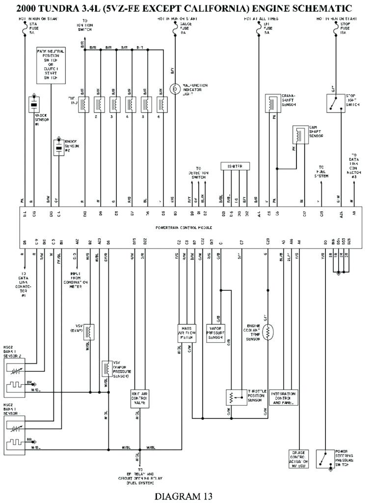 2007 Toyota Tundra Ignition Wiring Diagram