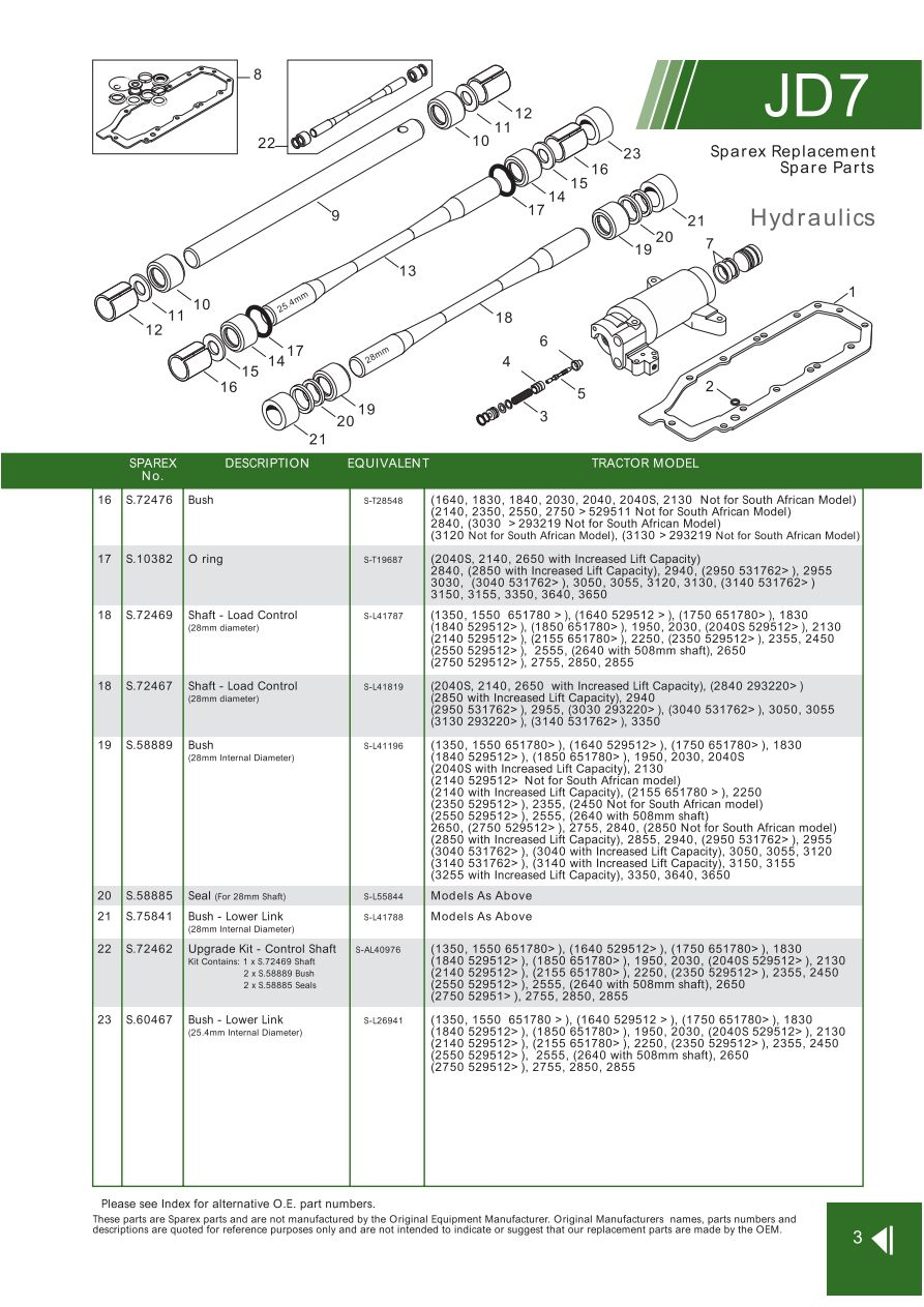 Ns 3862  2040 John Deere Light Diagram Wiring Diagram