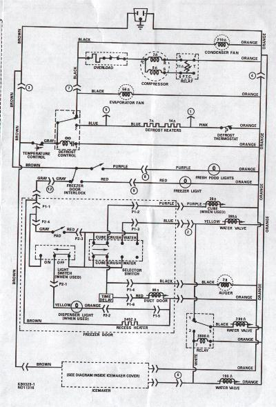 Stupendous Wiring Diagram Of No Frost Refrigerator Basic Electronics Wiring Wiring Cloud Timewinrebemohammedshrineorg