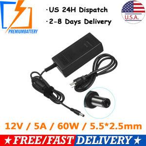 Superb New 12 Volt Dc Power Supply 5 Amp 5A 12V Adapter Lcd Cb 60W Wiring Cloud Licukaidewilluminateatxorg