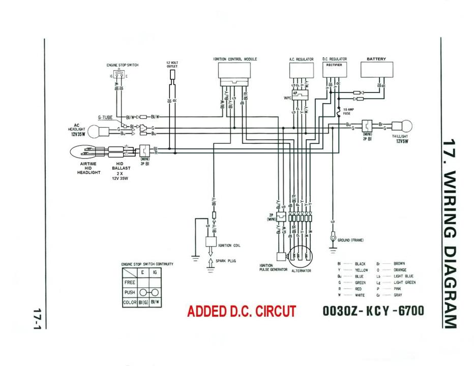 Admirable Dual Sport Wiring Harness Basic Electronics Wiring Diagram Wiring Cloud Vieworaidewilluminateatxorg