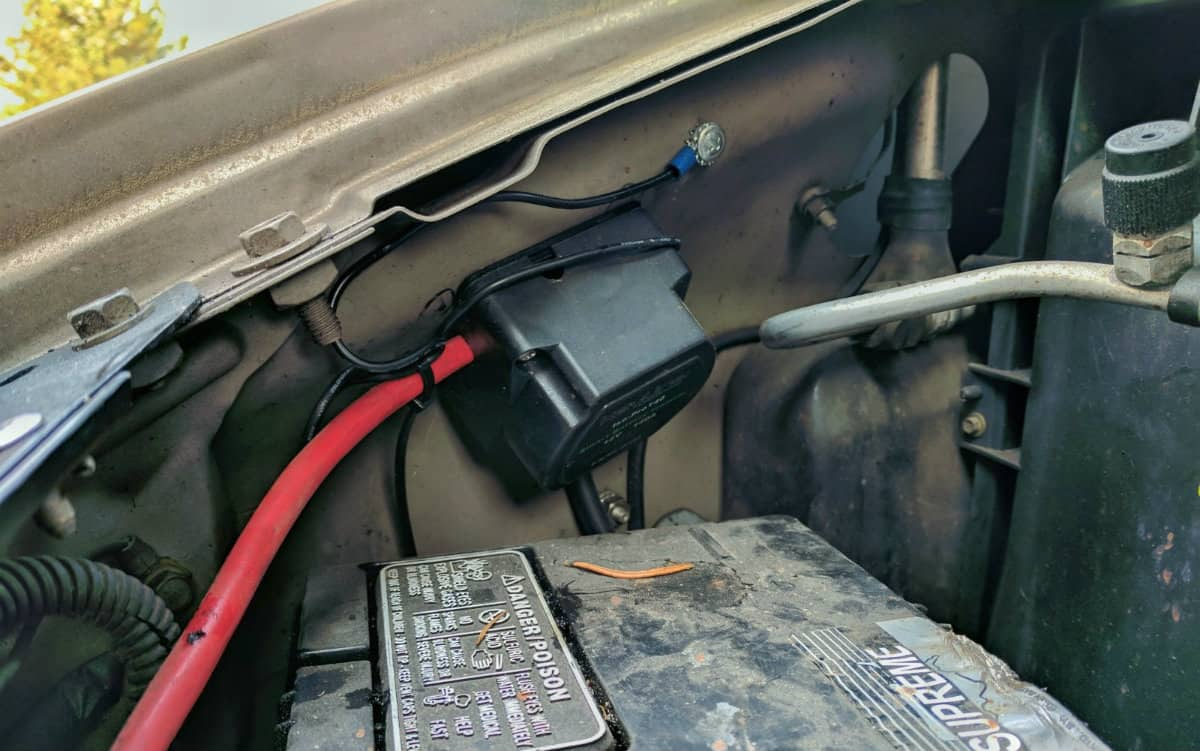 Pleasing Vanlife Essentials Installing A Smart Battery Isolator Wiring Cloud Overrenstrafr09Org