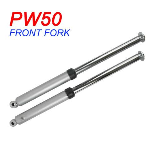 Homyl Front Forks Shocks Suspension Set Assembly For Yamaha PW50 PEEWEE 50 Black