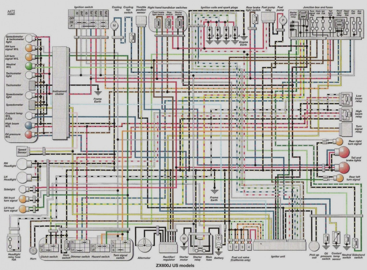 Wiring Diagram For 2004 Gsxr 600