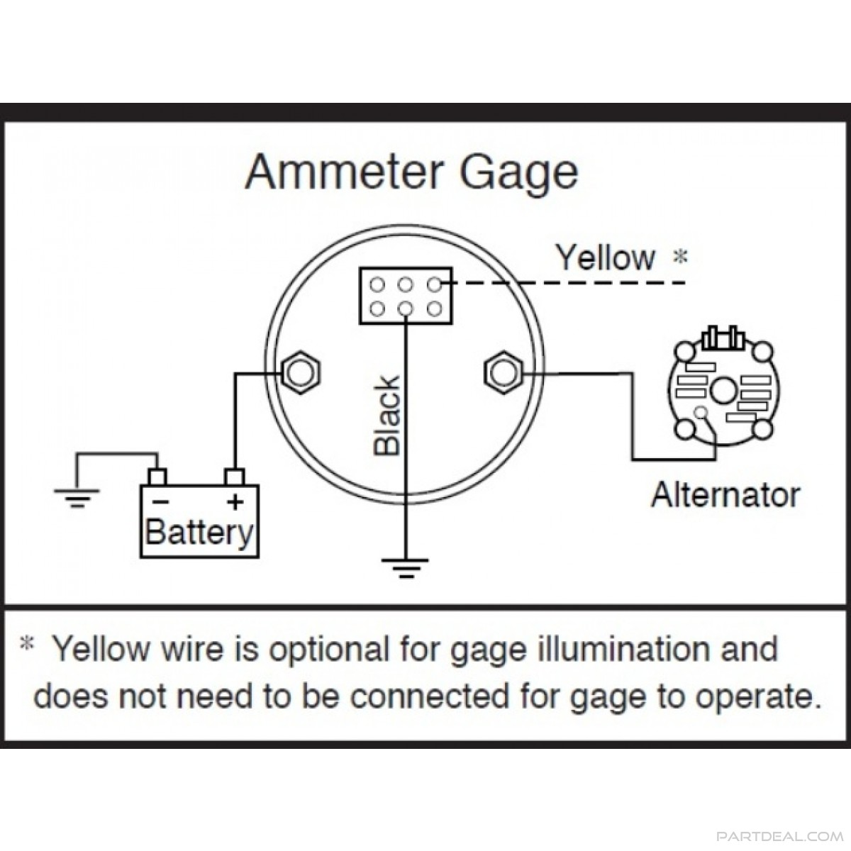 Gm Amp Gauge Wiring Diagram Wiring Diagrams Source