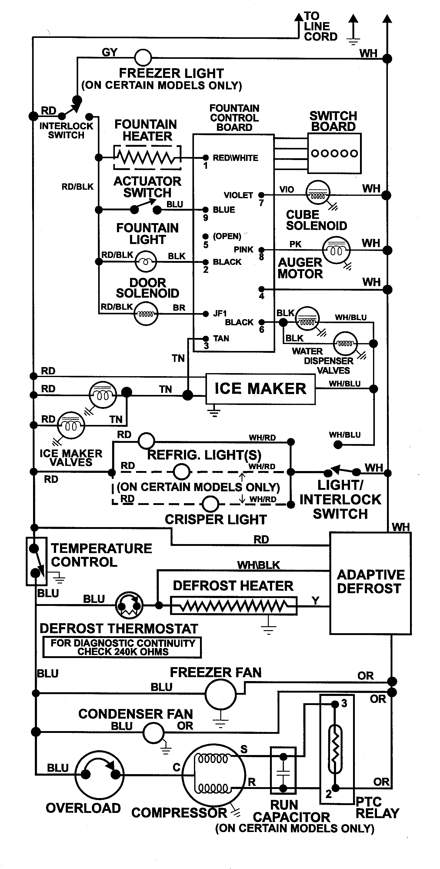 Admiral Refrigerator Wiring Diagram - 05 Tacoma Wiring Diagram for Wiring  Diagram Schematics | Admiral Refrigerator Wiring Schematic |  | Wiring Diagram Schematics