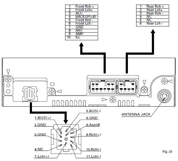 Wiring Diagram Radio Viva