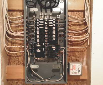 Wy 7865 Household Electrical Panel Wiring