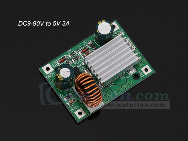 Sensational Dc Step Down Module Power Supply Non Isolated Buck Converter Board Wiring Cloud Hemtshollocom