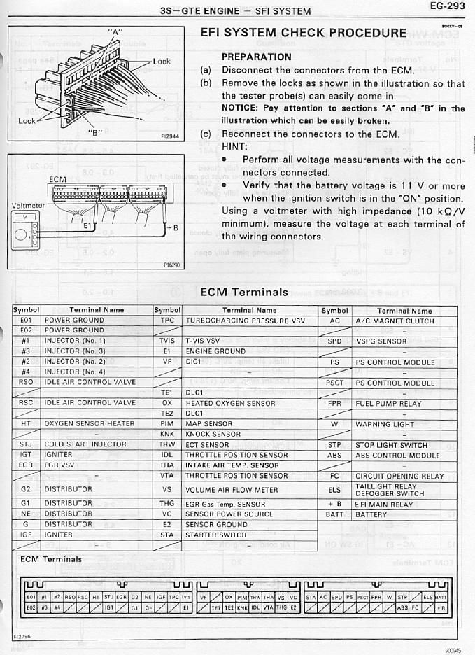 Vn 6178  Toyota Ecm Wiring Diagram Free Diagram