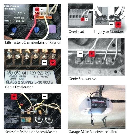 Lift Master Sensors Wiring Diagram 94