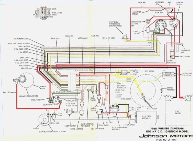 1979 Evinrude 115 Wiring Diagram