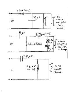 Of 6889 Deh Wiring Diagram Moreover 3 Way Speaker Crossover