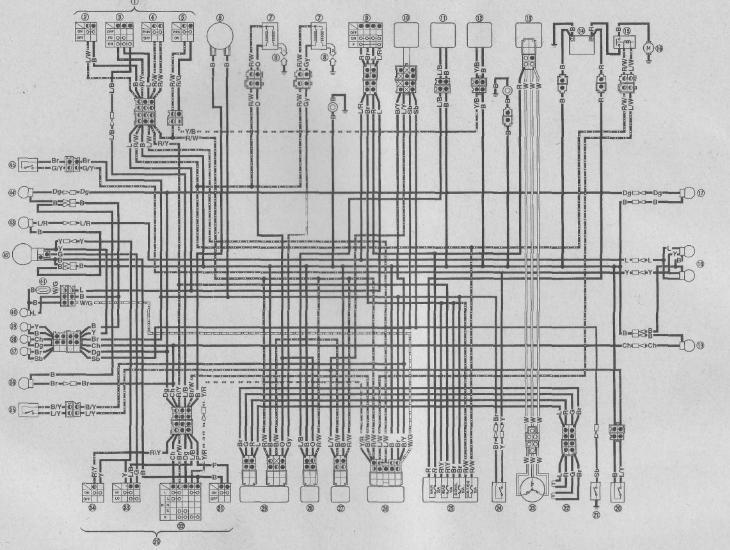 1994 Yamaha Virago 535 Wiring Diagram
