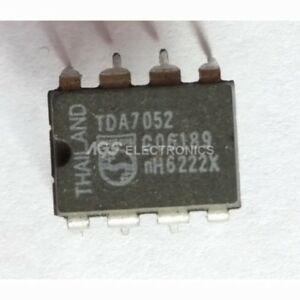 Awe Inspiring Tda7052 Tda 7052 Integrated Circuit 1W Btl Mono Audio Amp Wiring Cloud Itislusmarecoveryedborg