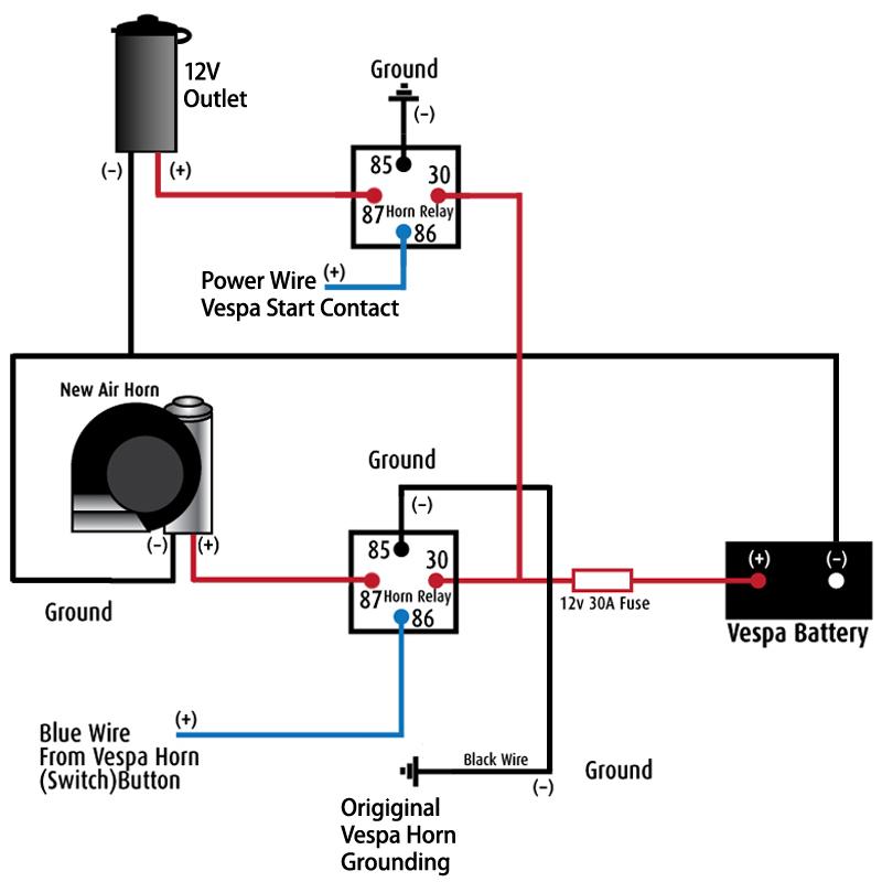 Amazing Car 12V Wiring Diagram Wiring Diagram Wiring Cloud Licukshollocom