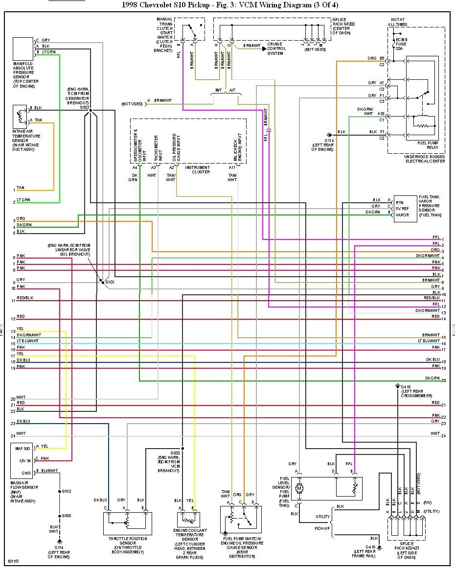 1998 Chevy Truck Wiring Diagram - Wiring Diagrams Database  diamondcarservice.it