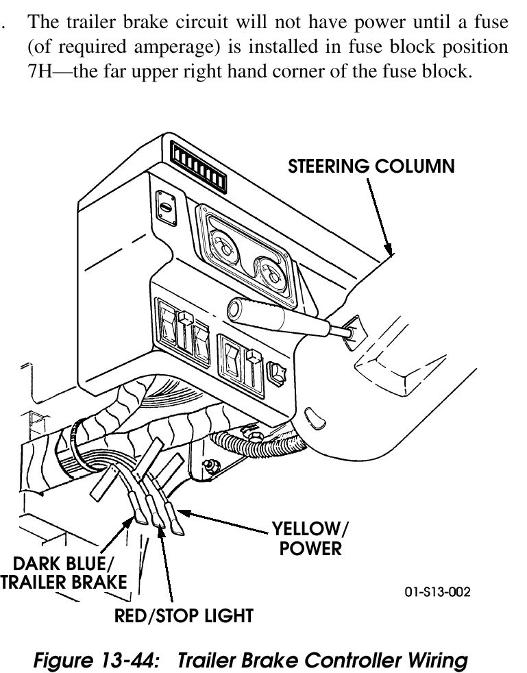 Sr 7746 4 Way Trailer Electric Brake Controller Wiring Diagram For For Lights Schematic Wiring