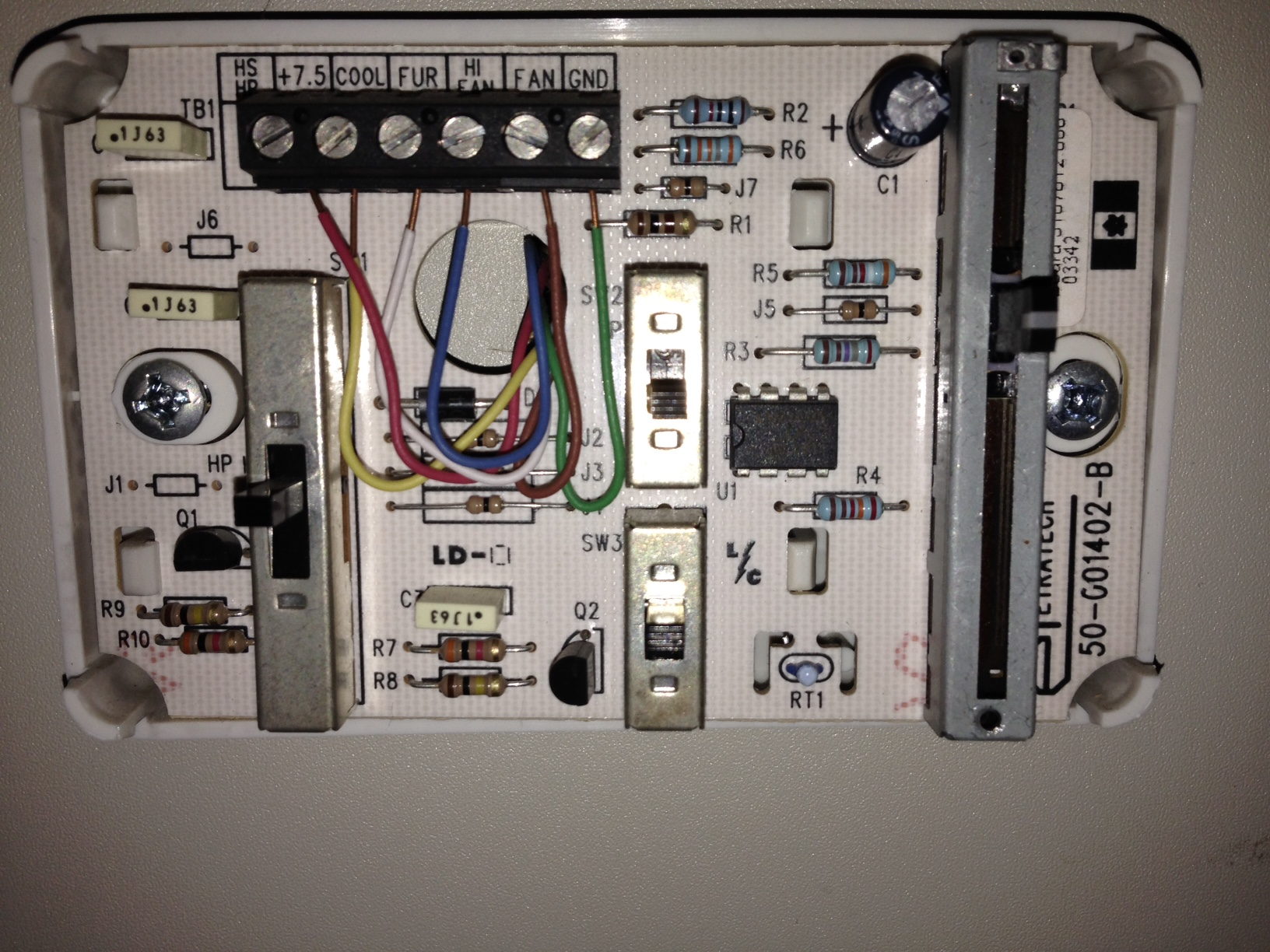 Duo Therm Analog Thermostat Wiring Diagram