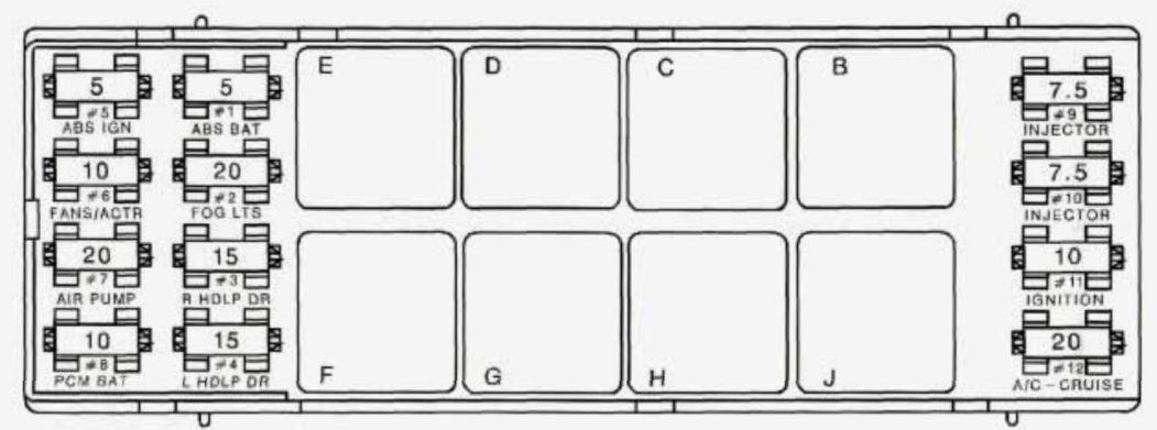 [WW_7324] 79 Firebird Fuse Box Download Diagram