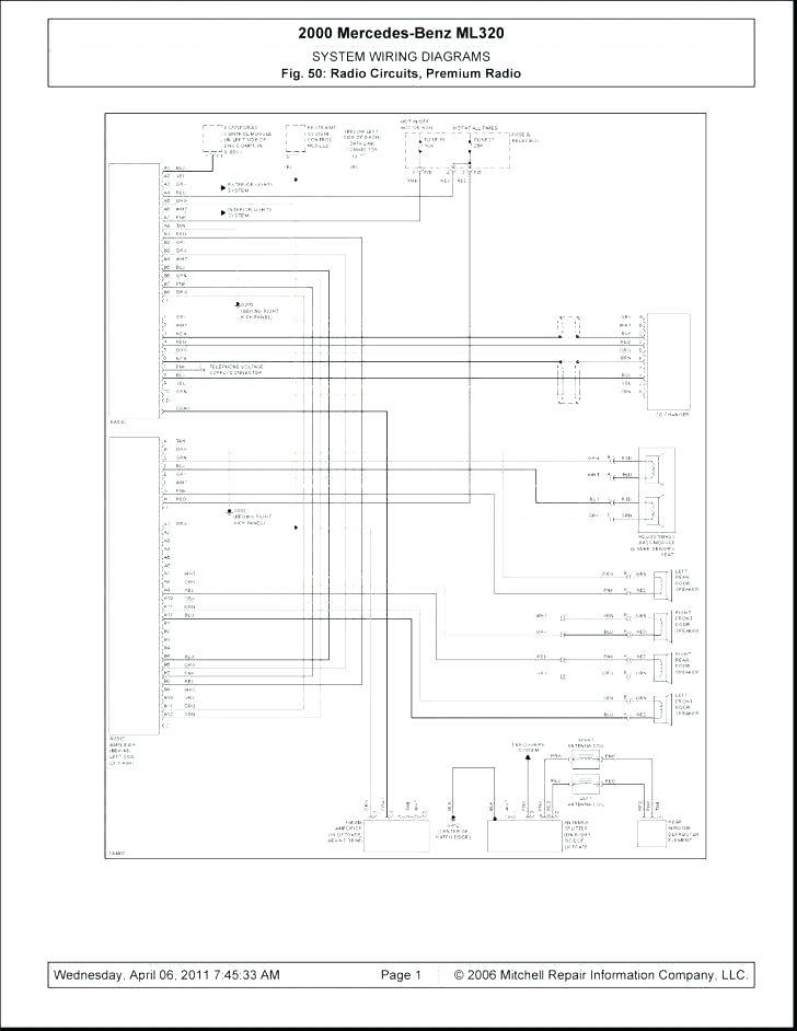 Mercedes Ml W163 Wiring Diagram