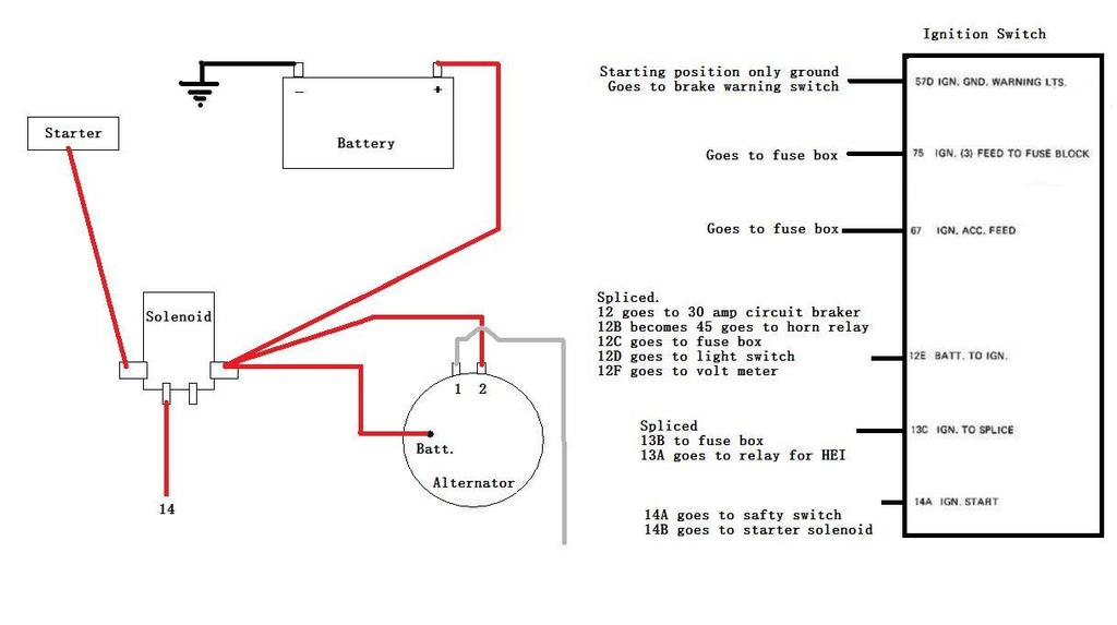 [WQZT_9871]  Other Car & Truck Charging & Starting Systems Auto Parts and Vehicles W1204 Alternator  Wiring Adapter From Delco-Remy 10Si 12Si to CS130 CS144 niceneasy.gr   Delco Remy 10si Alternator Wiring Diagram      Nice n Easy